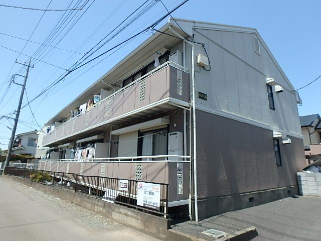 埼玉県さいたま市西区、西大宮駅徒歩7分の築25年 2階建の賃貸アパート