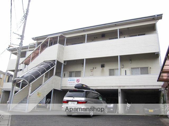 埼玉県志木市、志木駅徒歩15分の築22年 3階建の賃貸アパート