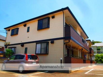 埼玉県富士見市、鶴瀬駅徒歩21分の築19年 2階建の賃貸アパート