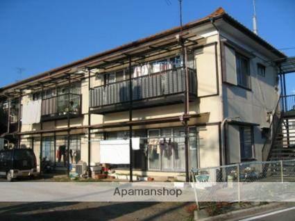 埼玉県ふじみ野市、ふじみ野駅徒歩28分の築42年 2階建の賃貸アパート