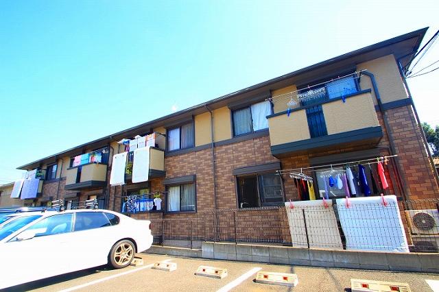 埼玉県富士見市、みずほ台駅徒歩9分の築14年 2階建の賃貸アパート