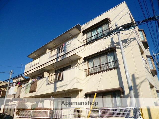埼玉県富士見市、柳瀬川駅徒歩23分の築28年 3階建の賃貸マンション
