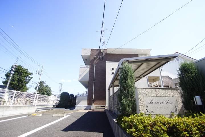 埼玉県ふじみ野市、鶴瀬駅徒歩26分の築7年 2階建の賃貸アパート