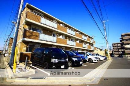 埼玉県ふじみ野市、ふじみ野駅徒歩10分の築4年 3階建の賃貸アパート