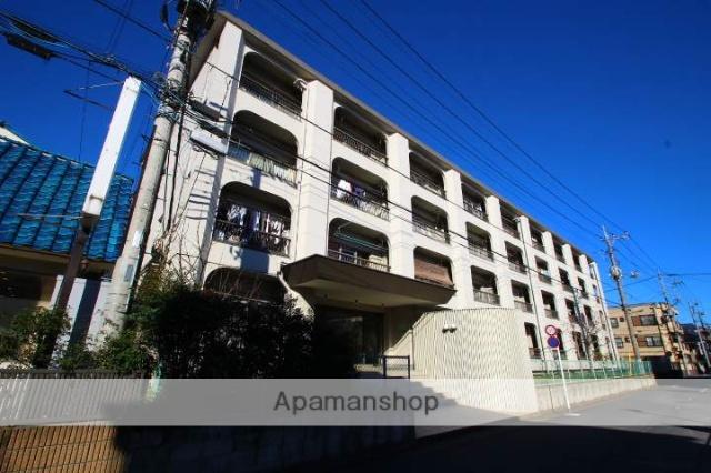 埼玉県朝霞市、北朝霞駅徒歩5分の築40年 4階建の賃貸マンション