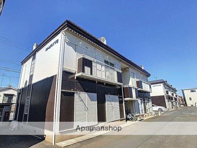 埼玉県富士見市、みずほ台駅徒歩17分の築26年 2階建の賃貸アパート