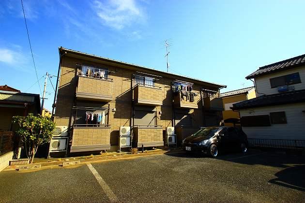 埼玉県富士見市、鶴瀬駅徒歩18分の築13年 2階建の賃貸アパート
