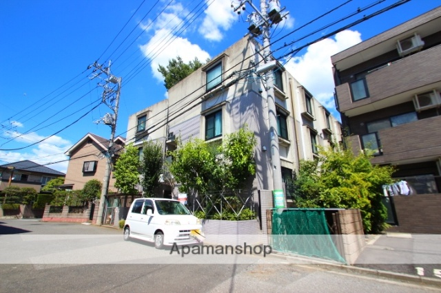 埼玉県富士見市、みずほ台駅徒歩7分の築22年 3階建の賃貸マンション
