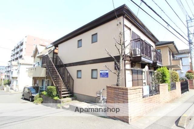 埼玉県富士見市、みずほ台駅徒歩17分の築34年 2階建の賃貸アパート