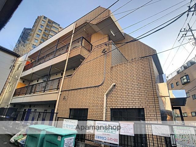 埼玉県志木市、北朝霞駅徒歩22分の築28年 3階建の賃貸マンション