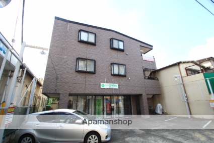埼玉県新座市、志木駅徒歩16分の築19年 3階建の賃貸マンション