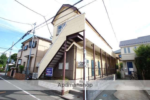 埼玉県ふじみ野市、上福岡駅徒歩15分の築24年 2階建の賃貸アパート