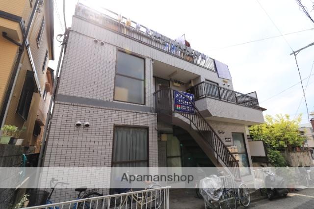 埼玉県川越市、上福岡駅徒歩8分の築25年 3階建の賃貸マンション