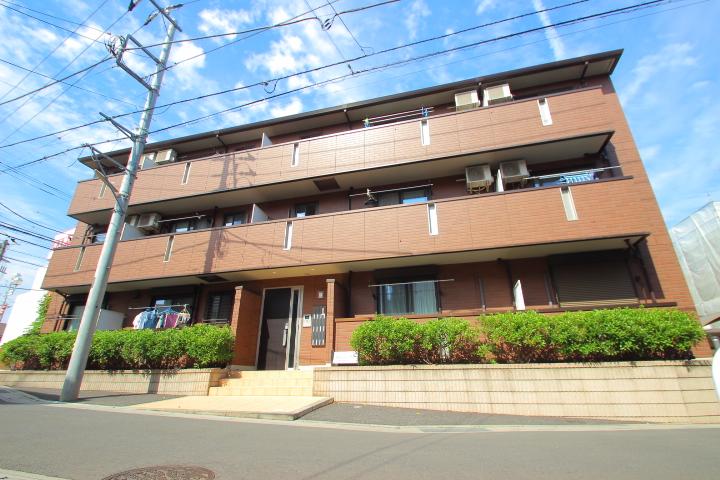 埼玉県富士見市、みずほ台駅徒歩19分の築6年 3階建の賃貸アパート
