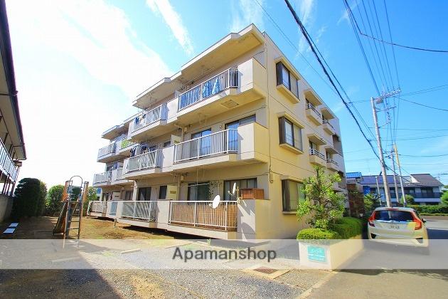 埼玉県富士見市、みずほ台駅徒歩18分の築32年 3階建の賃貸マンション