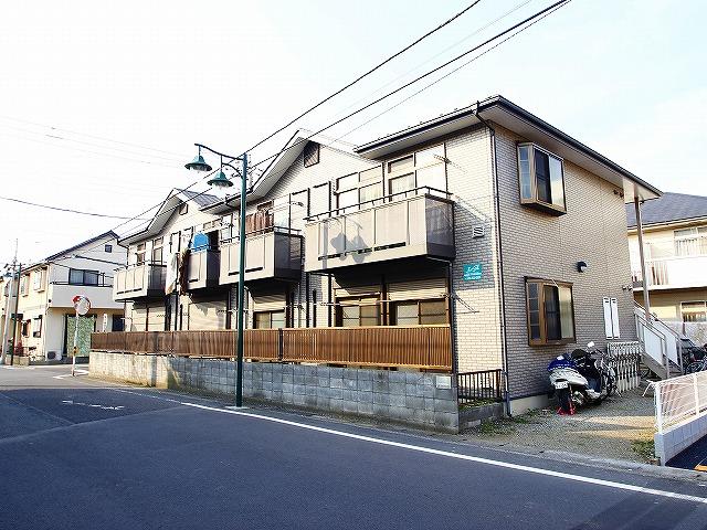 埼玉県川越市、上福岡駅徒歩12分の築14年 2階建の賃貸アパート