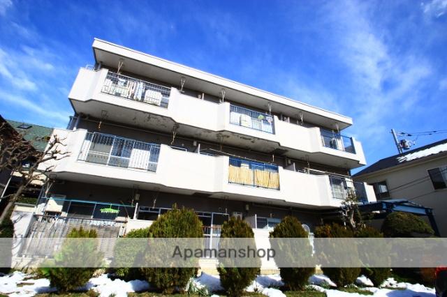 埼玉県ふじみ野市、ふじみ野駅徒歩18分の築40年 3階建の賃貸マンション