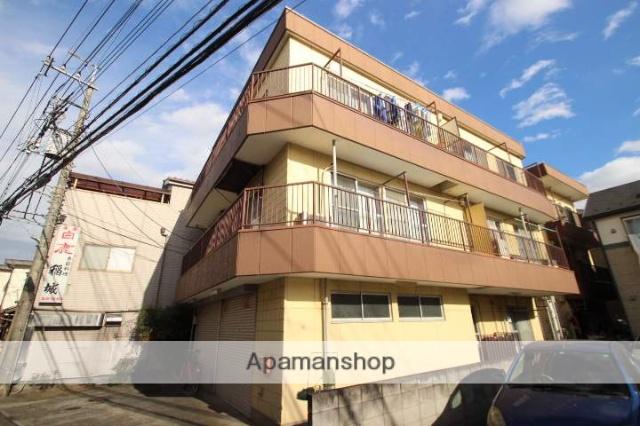 埼玉県入間郡三芳町、鶴瀬駅徒歩12分の築30年 3階建の賃貸マンション