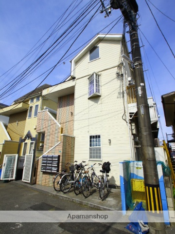 埼玉県新座市、新座駅徒歩24分の築23年 2階建の賃貸アパート