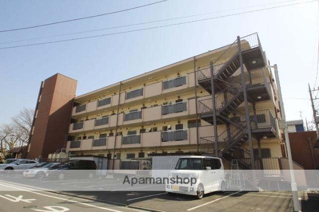 埼玉県入間郡三芳町、みずほ台駅徒歩12分の築35年 4階建の賃貸マンション