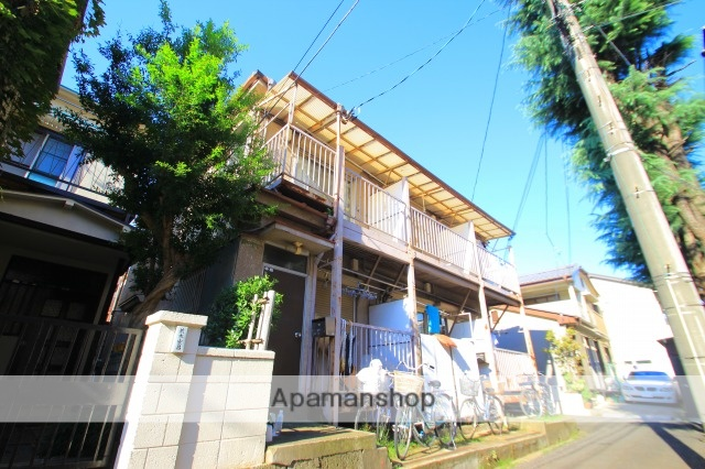 埼玉県富士見市、鶴瀬駅徒歩8分の築37年 2階建の賃貸アパート