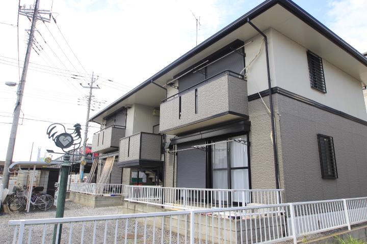 埼玉県富士見市、ふじみ野駅徒歩10分の築22年 2階建の賃貸アパート