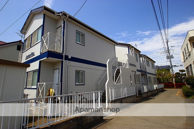 埼玉県富士見市、ふじみ野駅徒歩13分の築30年 2階建の賃貸アパート
