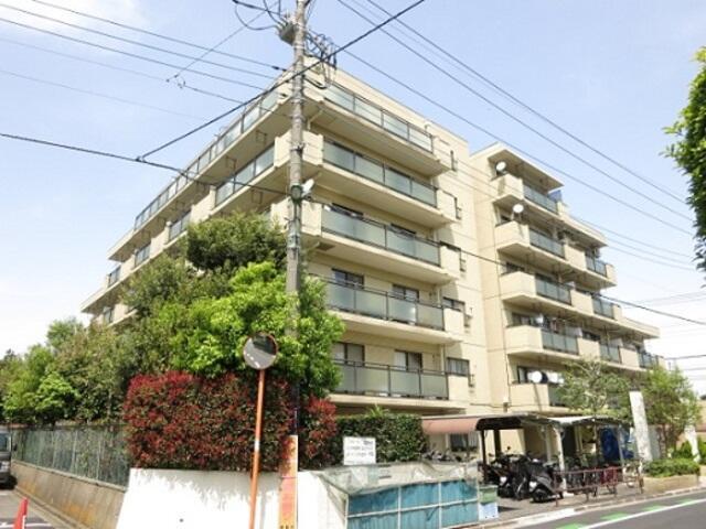 埼玉県朝霞市、北朝霞駅徒歩15分の築28年 6階建の賃貸マンション