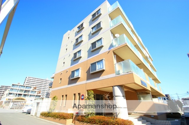 埼玉県富士見市、ふじみ野駅徒歩1分の築10年 5階建の賃貸マンション