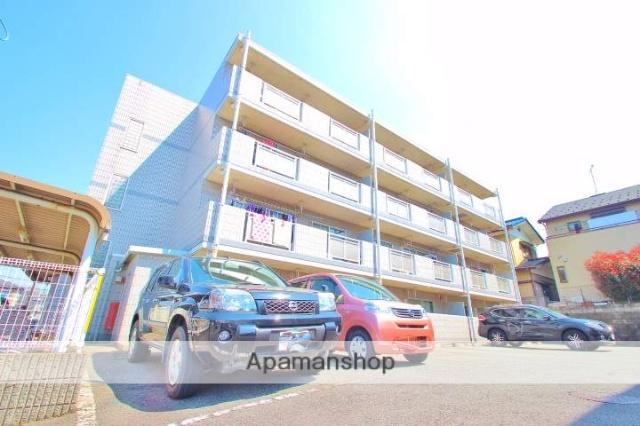 埼玉県富士見市、みずほ台駅徒歩10分の築24年 4階建の賃貸マンション