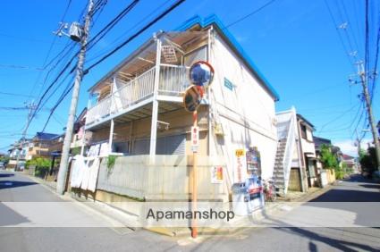 埼玉県富士見市、鶴瀬駅徒歩10分の築38年 2階建の賃貸アパート