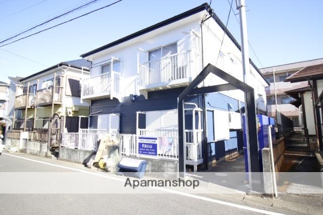 埼玉県ふじみ野市、ふじみ野駅徒歩8分の築23年 2階建の賃貸アパート