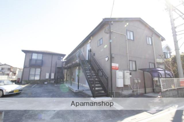 埼玉県川越市、南古谷駅徒歩17分の築17年 2階建の賃貸アパート
