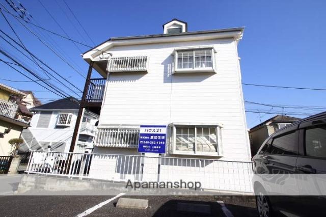 埼玉県川越市、上福岡駅徒歩19分の築29年 2階建の賃貸アパート