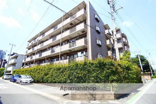 埼玉県富士見市、ふじみ野駅徒歩4分の築18年 5階建の賃貸マンション