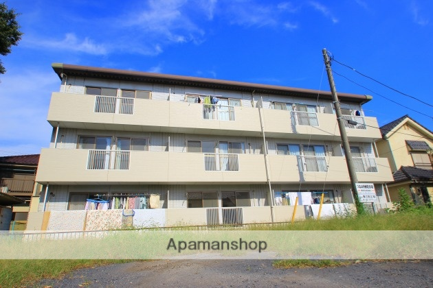 埼玉県富士見市、みずほ台駅徒歩24分の築23年 3階建の賃貸マンション