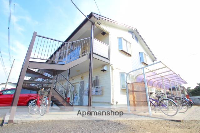 埼玉県入間郡三芳町、鶴瀬駅徒歩16分の築25年 2階建の賃貸アパート