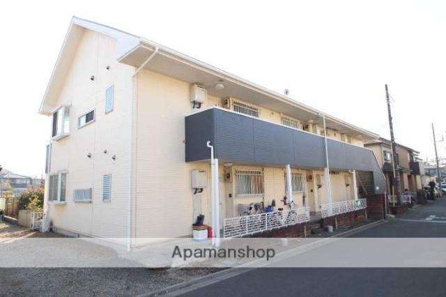 埼玉県入間郡三芳町、鶴瀬駅徒歩17分の築26年 2階建の賃貸アパート