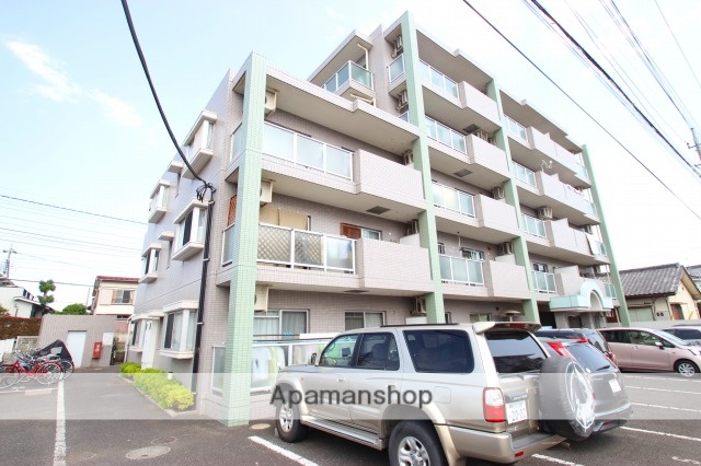 埼玉県ふじみ野市、鶴瀬駅徒歩30分の築18年 5階建の賃貸マンション