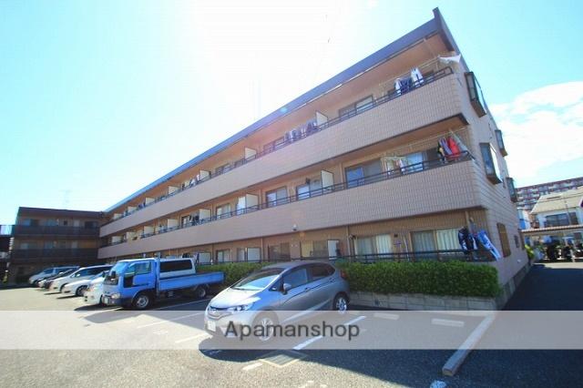 埼玉県朝霞市、北朝霞駅徒歩15分の築23年 3階建の賃貸マンション