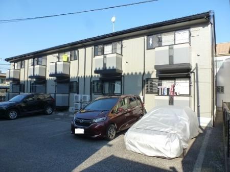 埼玉県川越市、川越駅徒歩20分の築17年 2階建の賃貸アパート