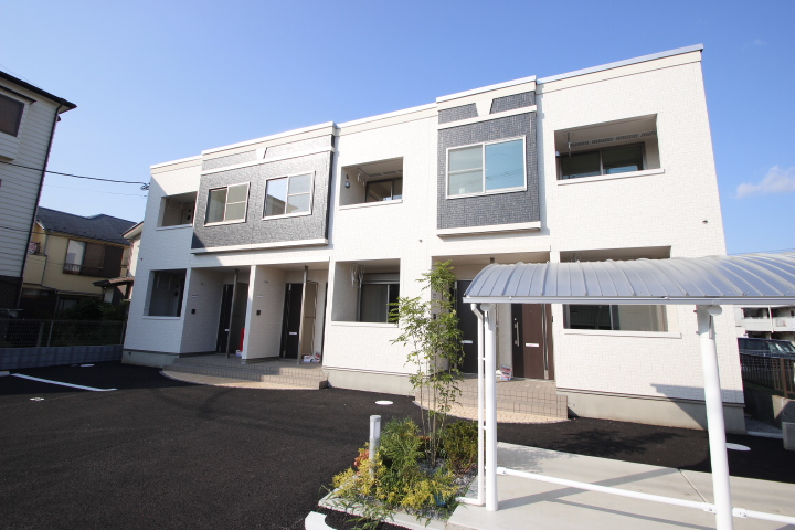 埼玉県川越市、上福岡駅徒歩16分の新築 2階建の賃貸アパート