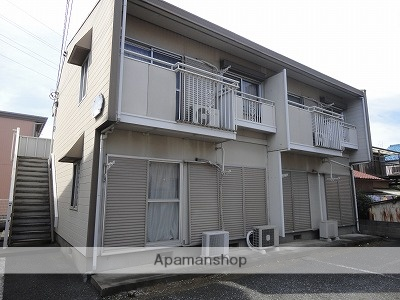 埼玉県川越市、新河岸駅徒歩22分の築28年 2階建の賃貸アパート