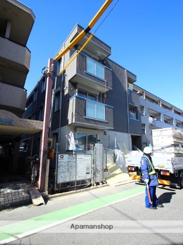 埼玉県富士見市、柳瀬川駅徒歩23分の新築 3階建の賃貸アパート
