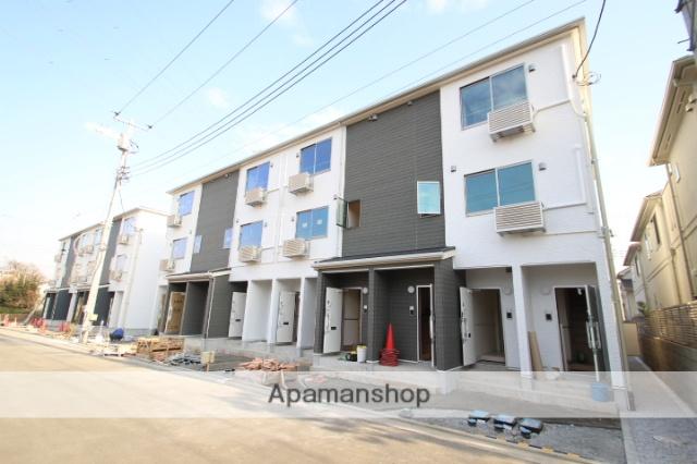 埼玉県入間郡三芳町、みずほ台駅徒歩26分の新築 3階建の賃貸アパート