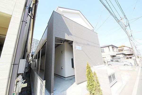 埼玉県川越市、川越駅徒歩15分の新築 2階建の賃貸アパート