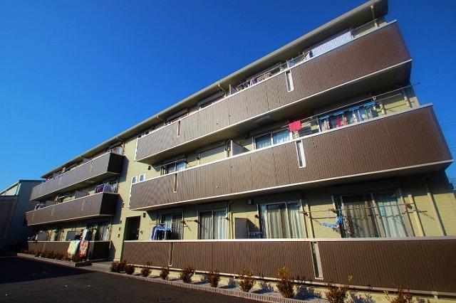 埼玉県富士見市、柳瀬川駅徒歩17分の築5年 3階建の賃貸マンション