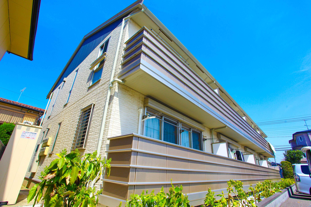 埼玉県ふじみ野市、ふじみ野駅徒歩26分の築10年 2階建の賃貸アパート