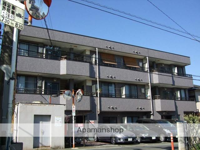 埼玉県富士見市、みずほ台駅徒歩12分の築23年 3階建の賃貸マンション