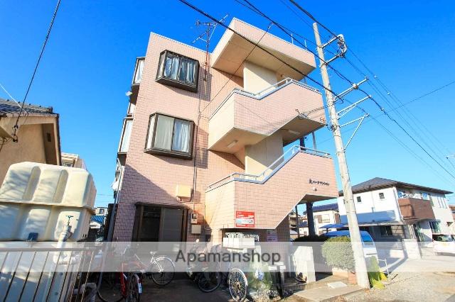 埼玉県ふじみ野市、鶴瀬駅徒歩40分の築26年 3階建の賃貸マンション